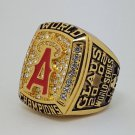 2002 Anaheim Angels world series championship ring CLAUS baseball MLB size 11 Back Solid