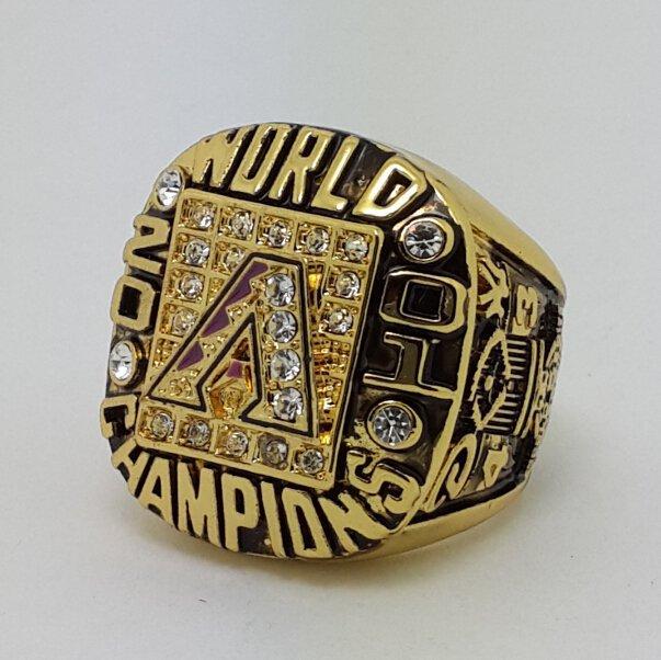 2001 Arizona Diamondbacks world series championship ring Colangelo baseball MLB size 11