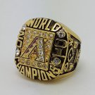 2001 Arizona Diamondbacks world series championship ring Colangelo baseball MLB size 11