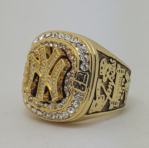New York Yankees 1999 world series championship ring JETER baseball size 11 Back Solid