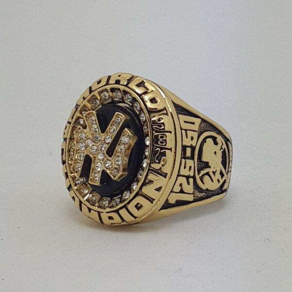 New York Yankees 1998 world series championship ring JETER baseball size 11 Back Solid