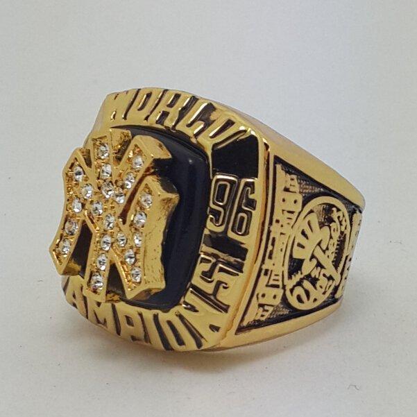 New York Yankees 1996 world series championship ring JETER baseball size 11 Back Solid
