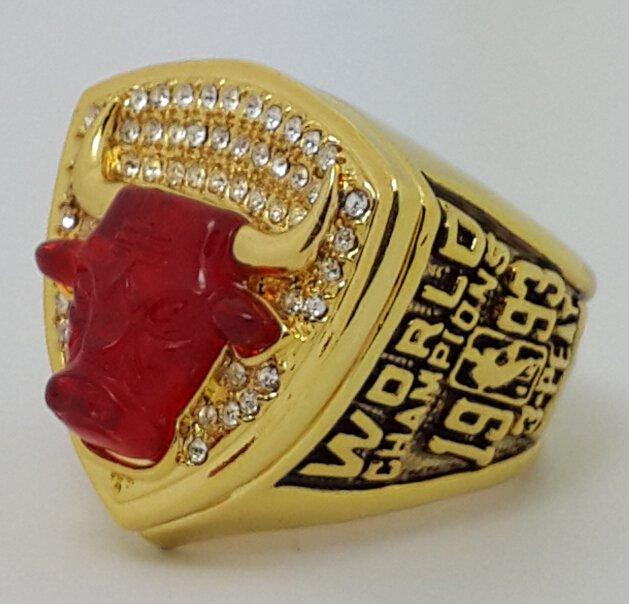 Chicago Bulls 1993 JORDAN Dynasty Basketball championship ring NBA size 10 Nice Gift