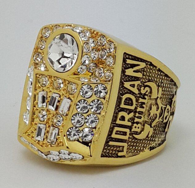 Chicago Bulls 1998 JORDAN Dynasty Basketball championship ring NBA size 10 Nice Gift