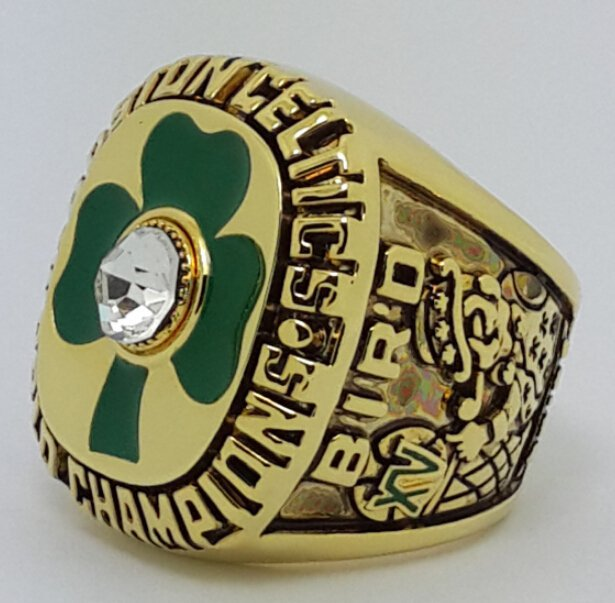 Boston Celtics 1984 Basketball championship ring BIRD NBA size 10 Nice Gift