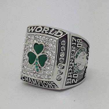 Boston Celtics 2008 Basketball championship ring GARNETT NBA size 10 Nice Gift