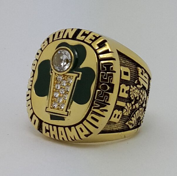 Boston Celtics 1986 Basketball championship ring BIRD NBA size 9-13 Nice Gift