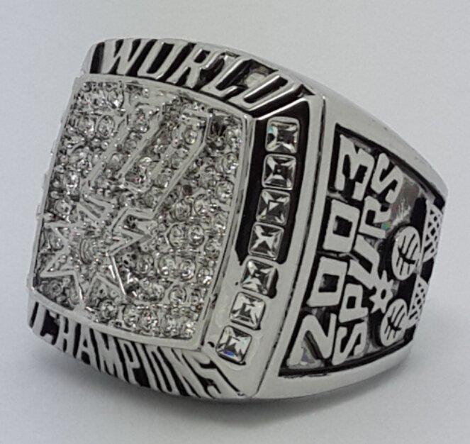 San Antonio Spurs 2003 Duncan Dynasty Basketball championship ring NBA size 10 Nice Gift