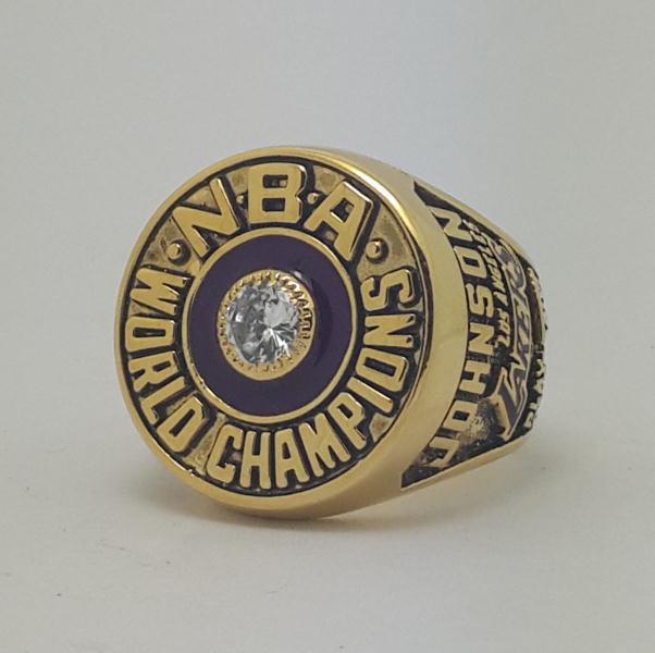 Los Angeles Lakers 1982 Basketball JOHNSON Dynasty championship ring NBA size 9-13 Nice Gift