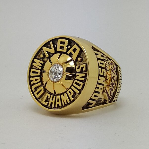 Los Angeles Lakers 1980 Basketball JOHNSON Dynasty championship ring NBA size 9-13 Nice Gift