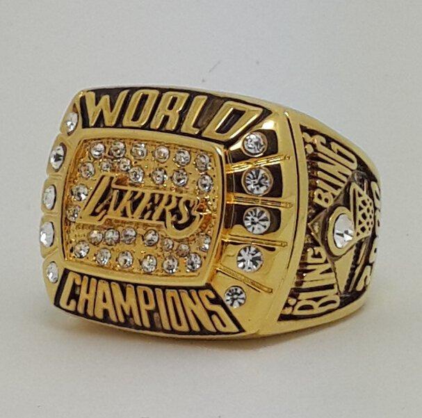 Los Angeles Lakers 2000 Basketball Kobe Bryant Dynasty championship ring NBA size 10 Nice Gift