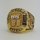 Los Angeles Lakers 2001 Basketball Kobe Bryant Dynasty championship ring NBA size 10 Nice Gift