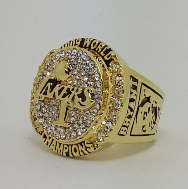 Los Angeles Lakers 2009 Basketball Kobe Bryant Dynasty championship ring NBA size 9 Nice Gift