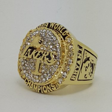 Los Angeles Lakers 2009 Basketball Kobe Bryant Dynasty championship ring NBA size 9 Nice Gift