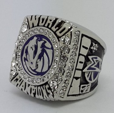 Dallas Mavericks 2011 Kidd Basketball championship ring NBA size 10 Nice Gift
