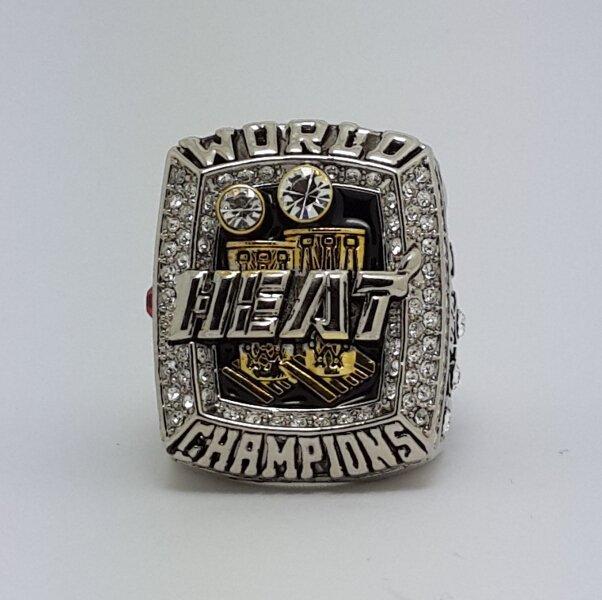 Miami Heat 2013 WADE Basketball championship ring NBA size 10 Nice Gift
