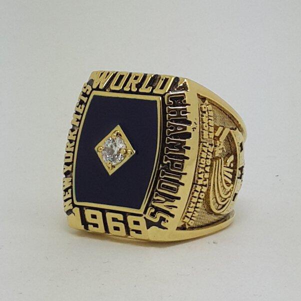 New York Mets 1969 world series championship ring baseball MLB size 9-14 Back Solid