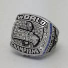 2013 Seattle Seahawks XLVIII Super bowl championship ring WILSON size 11 Back Solid