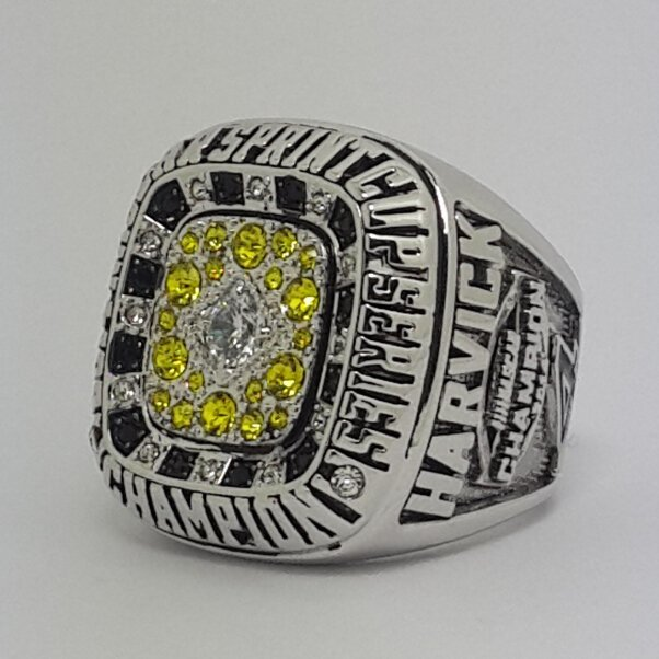 Stewart-Haas Racing 2014 Sprint Cup Championship Ring for Kevin Harvick Size 9-14 US