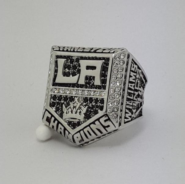 Los Angeles Kings 2014 Stanley Cup championship ring WILLIAMS size 11 US Back Solid