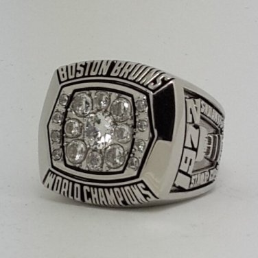 Boston Bruins 1972 Stanley Cup championship ring BOBBY ORR size 9-14 US Back Solid