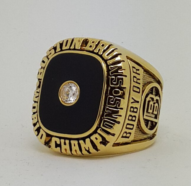 Boston Bruins 1970 Stanley Cup championship ring BOBBY ORR size 9-14 US Back Solid
