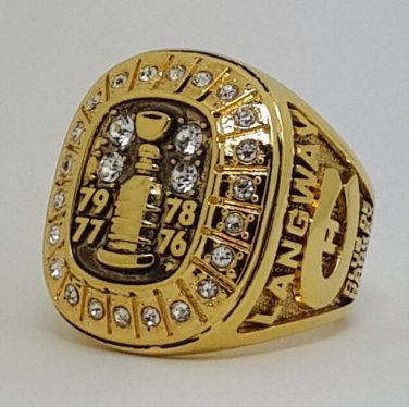 Montreal Canadiens 1979 Stanley Cup championship ring LANGWAY size 9-13 US Back Solid