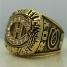 Montreal Canadiens 1986 Stanley Cup championship ring ROY size 9-13 US Back Solid