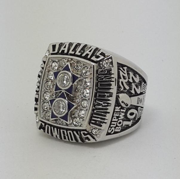 High Quality 1977 Dallas Cowboys XXVII Super bowl championship ring STAUBACH size 9-14 Back Solid