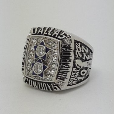 High Quality 1977 Dallas Cowboys XXVII Super bowl championship ring STAUBACH size 9-14 Back Solid