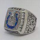 High Quality 2006 Indianapolis Colts XLI Super bowl championship ring MANNING size 9-14 Back Solid