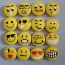 2 sets strange express smile tennis vibration dampener shock absorber 16pcs