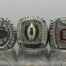 A Set 2014 Ohio State Buckeyes National Championship rings Size 8 9 10 11 12 13 14 Solid Nice Gift