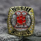 Custom Name & Number for 2016 Clemson Tigers ACC National Championship Ring Size 8 9 10 11 12 13 14