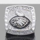 2017 2018 Philadelphia Eagles LII Super Bowl Championship ring FOLES size 8 9 10 11 12 13 14