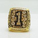 2008 Florida Gators NCAA National Championship ring Size 8 9 10 11 12 13 14
