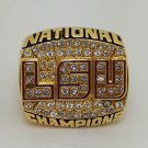 2003 Louisiana State Tigers LSU National Championship ring Size 8 9 10 11 12 13 14