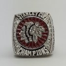 Chicago BlackHawks 2013 Stanley Cup Championship ring size 8 9 10 11 12 13 14 US Back Solid