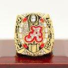 2015 Alabama Crimson Tide NCAA Final National Championship ring Size 11 US Back Solid
