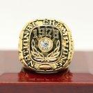 1978 Alabama Crimson Tide National Championship ring Size 11 US Back Solid