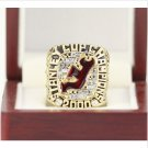 2000 New Jersey Devils Stanley Cup Championship ring Size 11 Back Solid