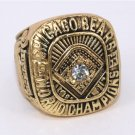 1963 Chicago Bears NFL Championship ring size 11