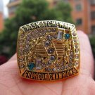 1989 Saskatchewan Roughriders Grey Cup Championship ring Size 11 US Back Solid