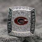 Custom Name for 2017 Georgia Bulldogs SEC National Championship ring Size 8 9 10 11 12 13 14