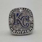 Custom Name for 2014 Kansas City Royals American League Championship ring Size 8 9 10 11 12 13 14