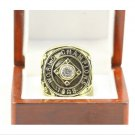 1908 Chicago Cubs World Series Championship ring Size 11 Back Solid