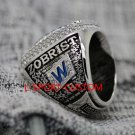 ZOBRIST 2016 Chicago Cubs World Series Championship ring size 14