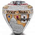 Custom Name & Number for 2018 Washington Capitals Stanley Cup Championship ring Official Style