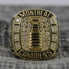1964 Montreal Canadiens Stanley Cup Championship ring size 8 Back Solid