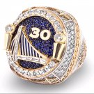 2018 Golden State Warriors Basketball Championship ring CURRY Size 8 / 14 Solid Gift